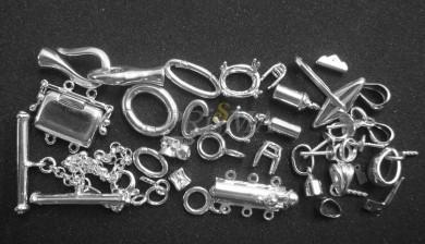 componenti vari in argento